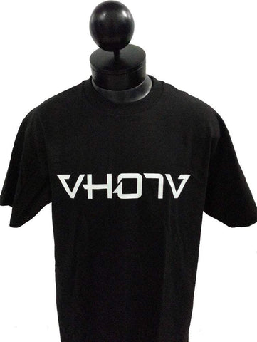 Adult Logo Tee (Black/White) - VH07V