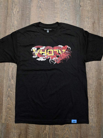 "Adult ""Dragon"" Tee (Black)"