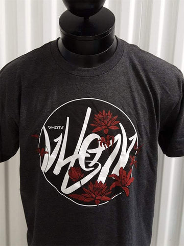 "Fine Jersey Fitted ""Flow"" Tee (Charcoal Heather) - VH07V"