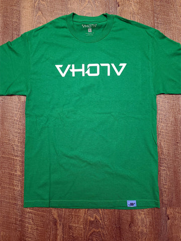 Adult Logo Tee (Green/White) - VH07V