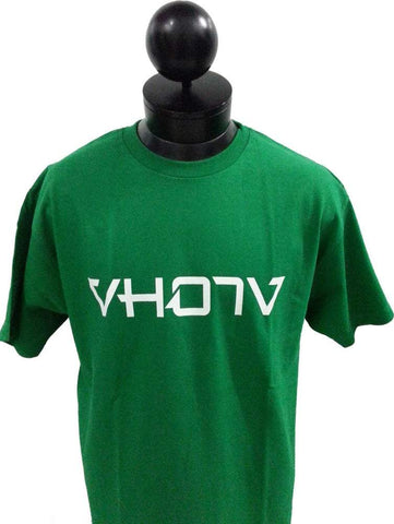 Adult Logo Tee (Green/White)