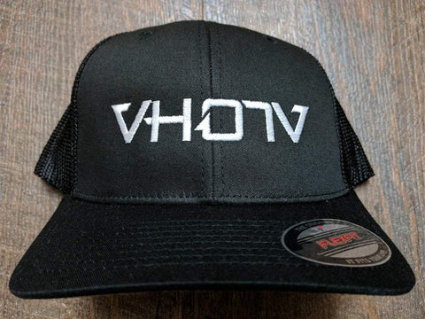 Flexfit: Trucker (All Black) - VH07V