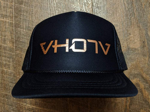 Snapback: Foam Trucker (Navy/Copper) - VH07V