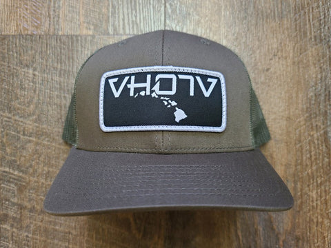 Snapback: Patch Trucker (Loden) - VH07V