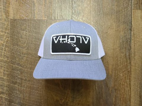 Snapback: Patch Trucker (Gray/White) - Youth - VH07V