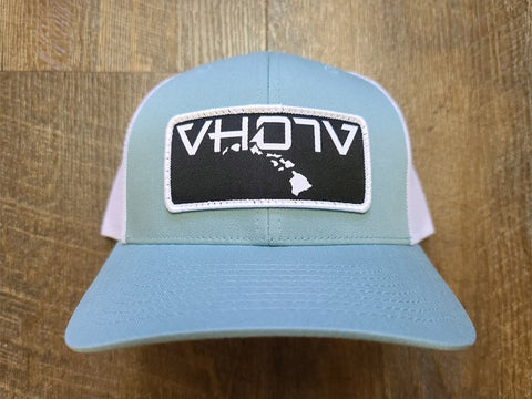 Snapback: Patch Trucker (Smoke Blue/White) - VH07V