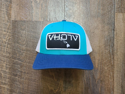 Snapback: Patch Trucker (Teal/Birch/Navy) - Youth - VH07V