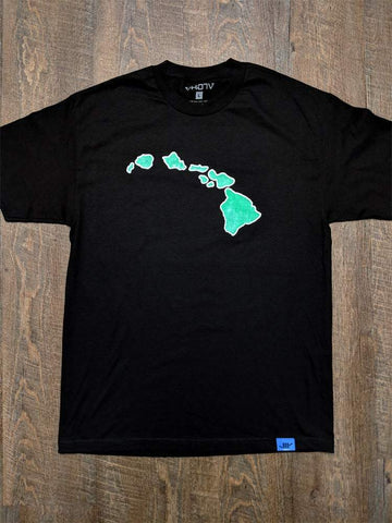 "Adult ""Islands"" Tee (Black) - VH07V"