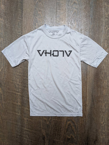 Keiki Moisture Wicking T-shirt (Silver/Black) - VH07V