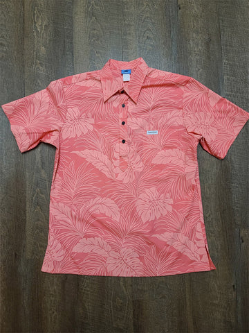 All Peach Floral Aloha Shirt