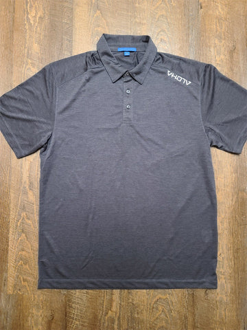 Adult Moisture Wicking Performance Polo (Graphite)