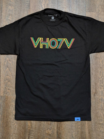 "Adult ""Quest"" Tee (Black) - VH07V"