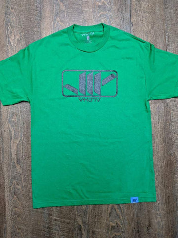 "Adult ""Shaka"" Tee (Green/Black) - VH07V"