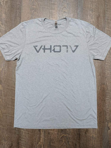 "Soft Triblend ""Fade"" Tee (Athletic Gray/Gray) - VH07V"