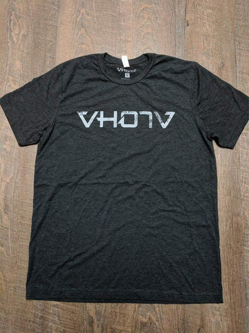 "Soft Triblend ""Fade"" Tee (Charcoal/Gray) - VH07V"