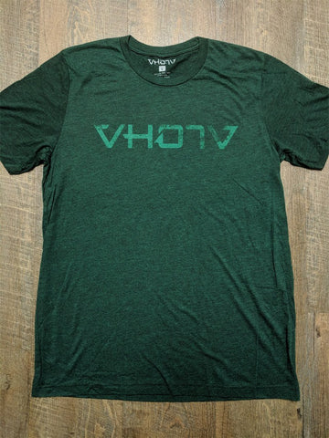 "Soft Triblend ""Fade"" Tee (Emerald/Green) - VH07V"