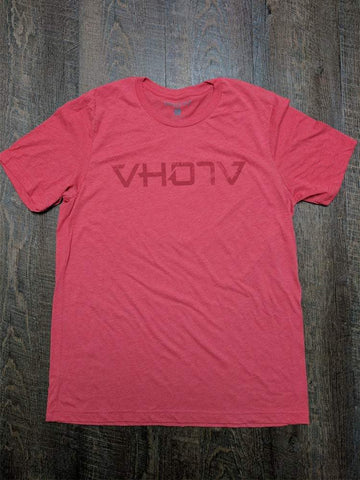 "Soft Triblend ""Fade"" Tee (Red/Red) - VH07V"