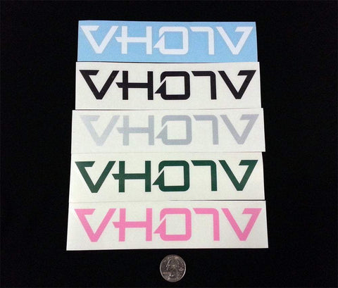 "7"" Logo Decals - VH07V"
