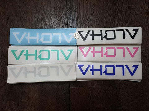 "9"" Logo Decals - VH07V"