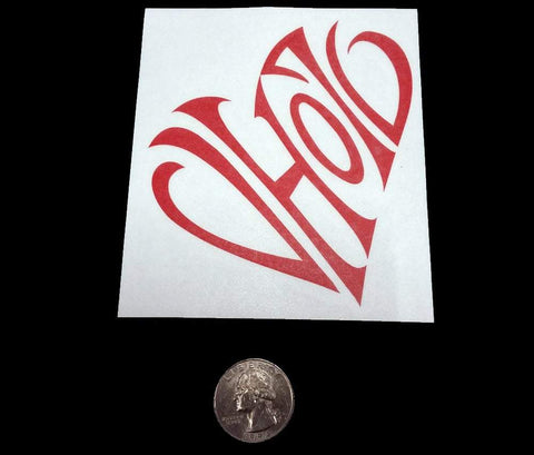 """Heart"" Decal"
