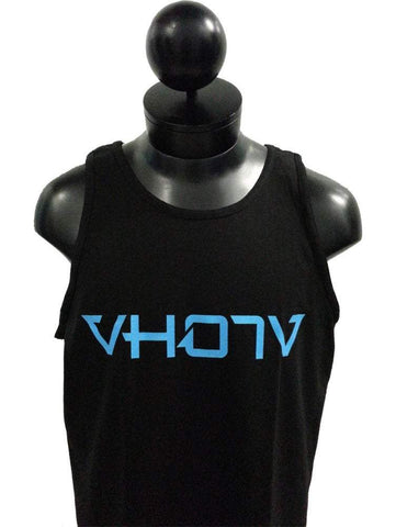 Adult Logo Tank (Black/Blue)