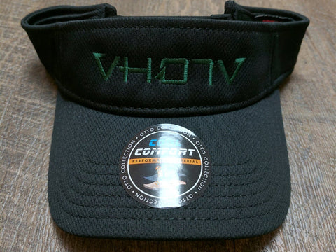 Visor: Logo (Black/Green)