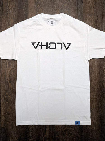 Adult Logo Tee (White/Black) - VH07V