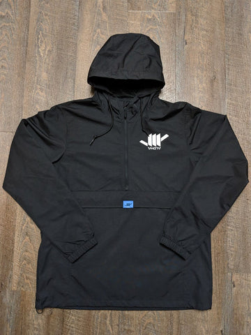 Water Resistant Windbreaker (Black)