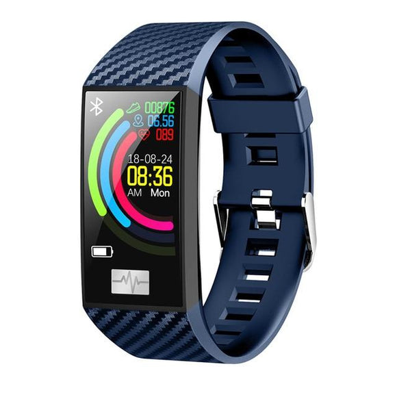 Workout tracker and smartwatch - blue