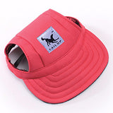 Dog cap, red