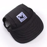 Dog cap in black