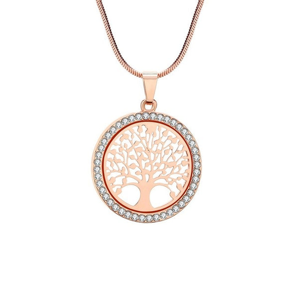 Gorgeous tree of life necklace - available in gold