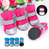 Reflective dog winter boots, suitable for cats