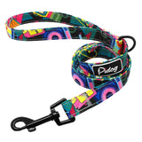 Reflective Rope Dog Leash colourful