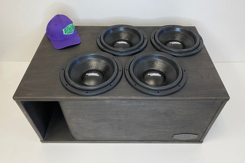 "4 x 12"" Subs Up Port Back- 7.0cf"