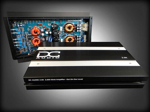 DC Audio 2.0k - 2,000w Monoblock Amplifier
