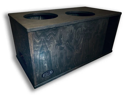 "2 x 12"" Subs Up Port Back- 3.5cf"