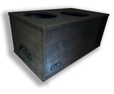 "2 x 12"" Subs Up Port Back - 4.75cf"