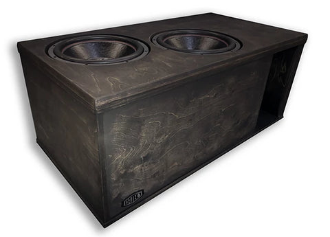 "2 x 15"" Subs Up Port Back - 8.0cf"