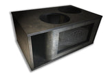 "CUSTOM GATELY 2 x 15"" Subs Up Port Back- 7.0cf"