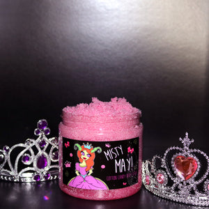 Misty May Cotton Candy Body Scrub 500g