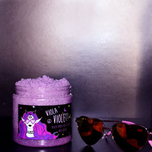 Load image into Gallery viewer, Viola Violet Black Amber and Lavender Body Scrub 500g