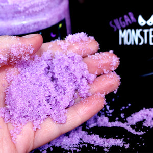 Viola Violet Black Amber and Lavender Body Scrub 500g