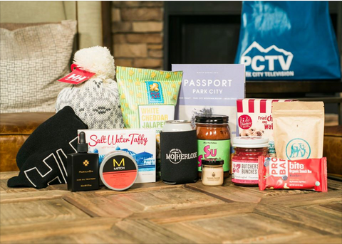Image of products inside the PCTV Sundance Gift Bag