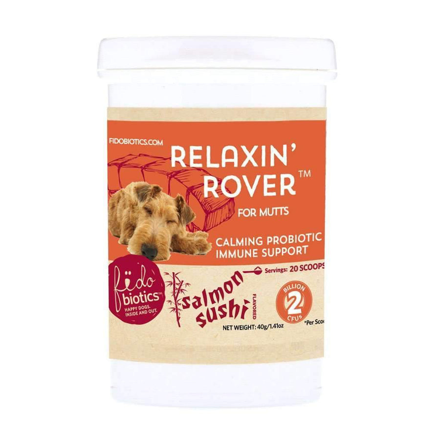 Relaxin' Rover Salmon Sushi - Fidobiotics - probiotics for dogs and cats