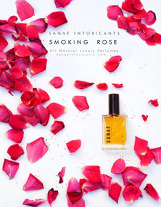 Sanae Intoxicants Smoking Rose Perfume