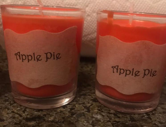 Fall Scented Glass Votives