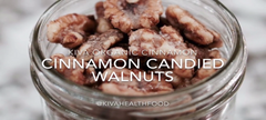 Organic Cinnamon Candied Walnuts