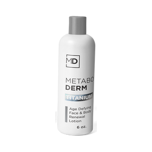 Metaboderm Titanium - Age-Defying Face & Body Renewal Lotion