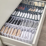 Underwear Storage Box with Compartments Socks Bra Underpants Organizer Drawers Divider Box Storage Box Cabinet Drawer Divider